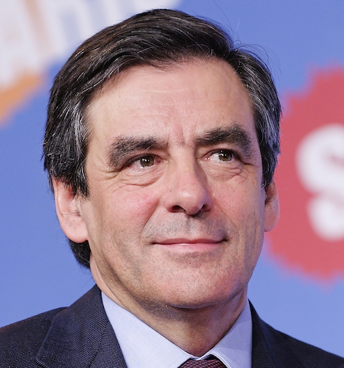 François Fillon French Presidential Candidate 2017 - attribution: https://commons.wikimedia.org/wiki/File:Fran%C3%A7ois_Fillon_2010_(cropped).jpg