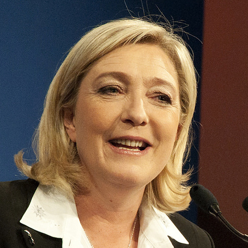 marine le pen french presidential candidate 2017 - attribution https://www.flickr.com/photos/121483302@N02/13765930124