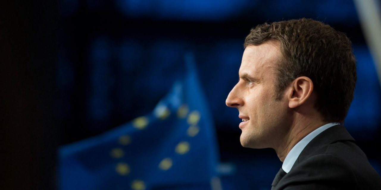 Macron pledges to defend Europe in victory speech