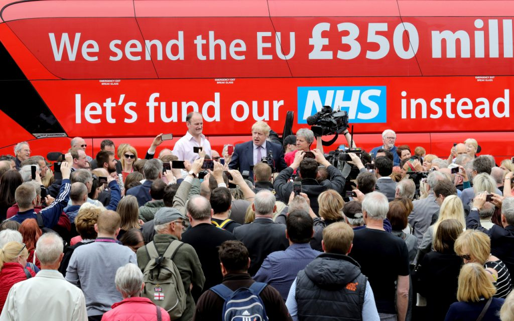 vote leave bus lie cummings