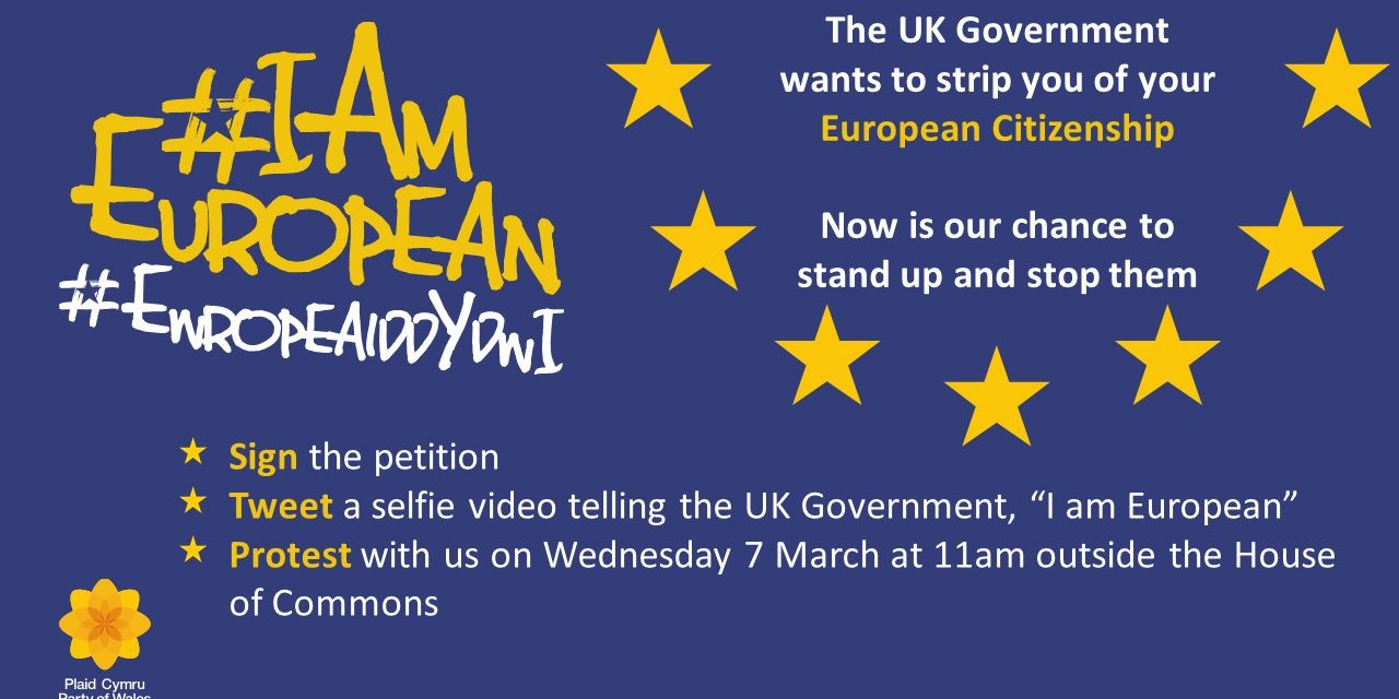 Plaid Cymru launches #IAmEuropean campaign